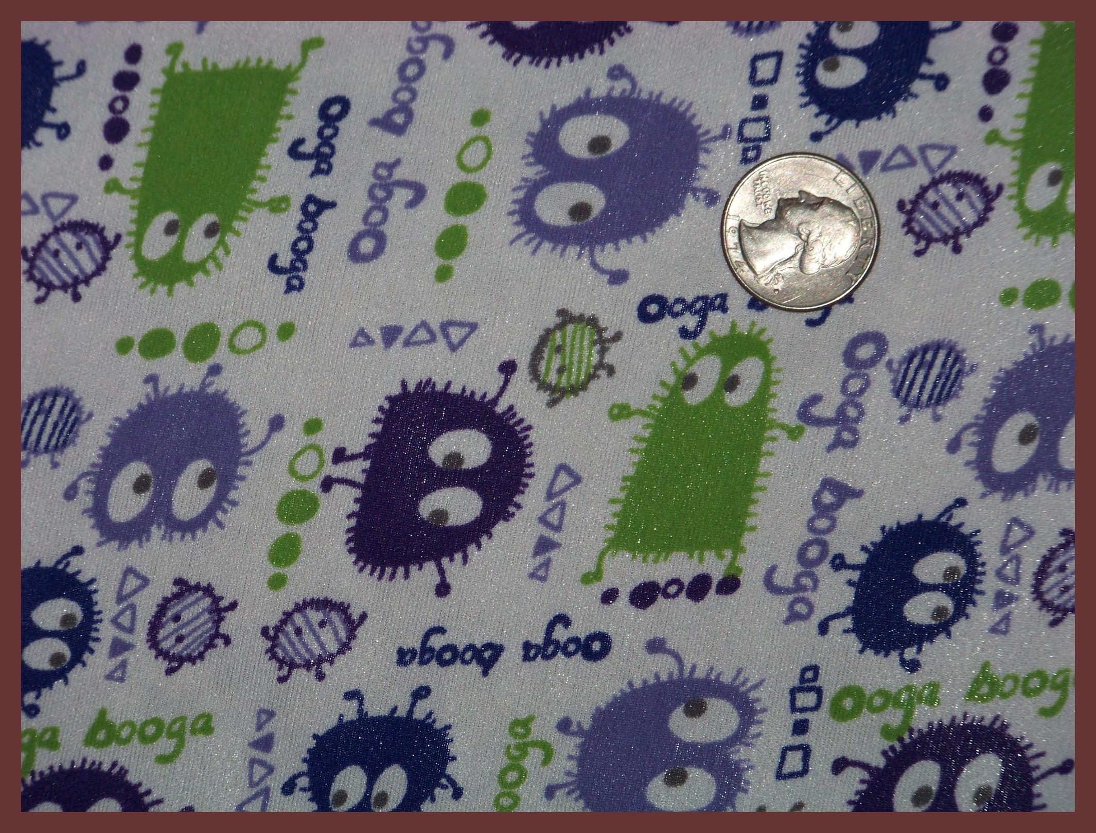"""ooga booga green/purple/navy 18""""X20"""""""