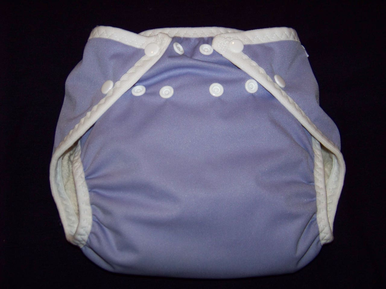 Periwinkle AIO Diaper - Medium