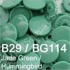 B29 Jade  * 25 *  complete snap set