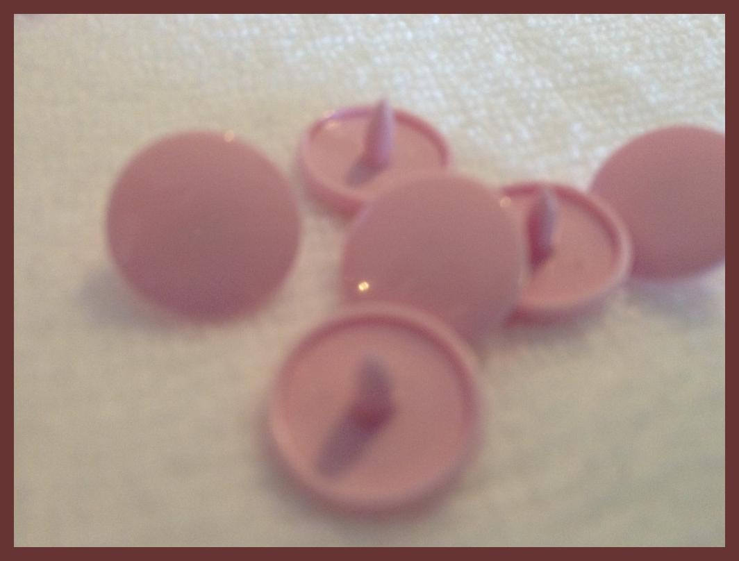 B57 Medium Pink *50* complete snap sets