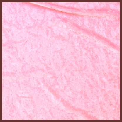 Crushed Velvet Pink - by the Yard