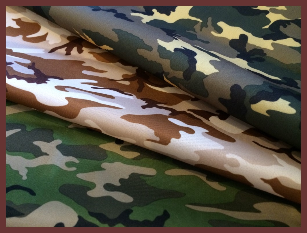 Cuts Collection: Camo 3 PUL Prints
