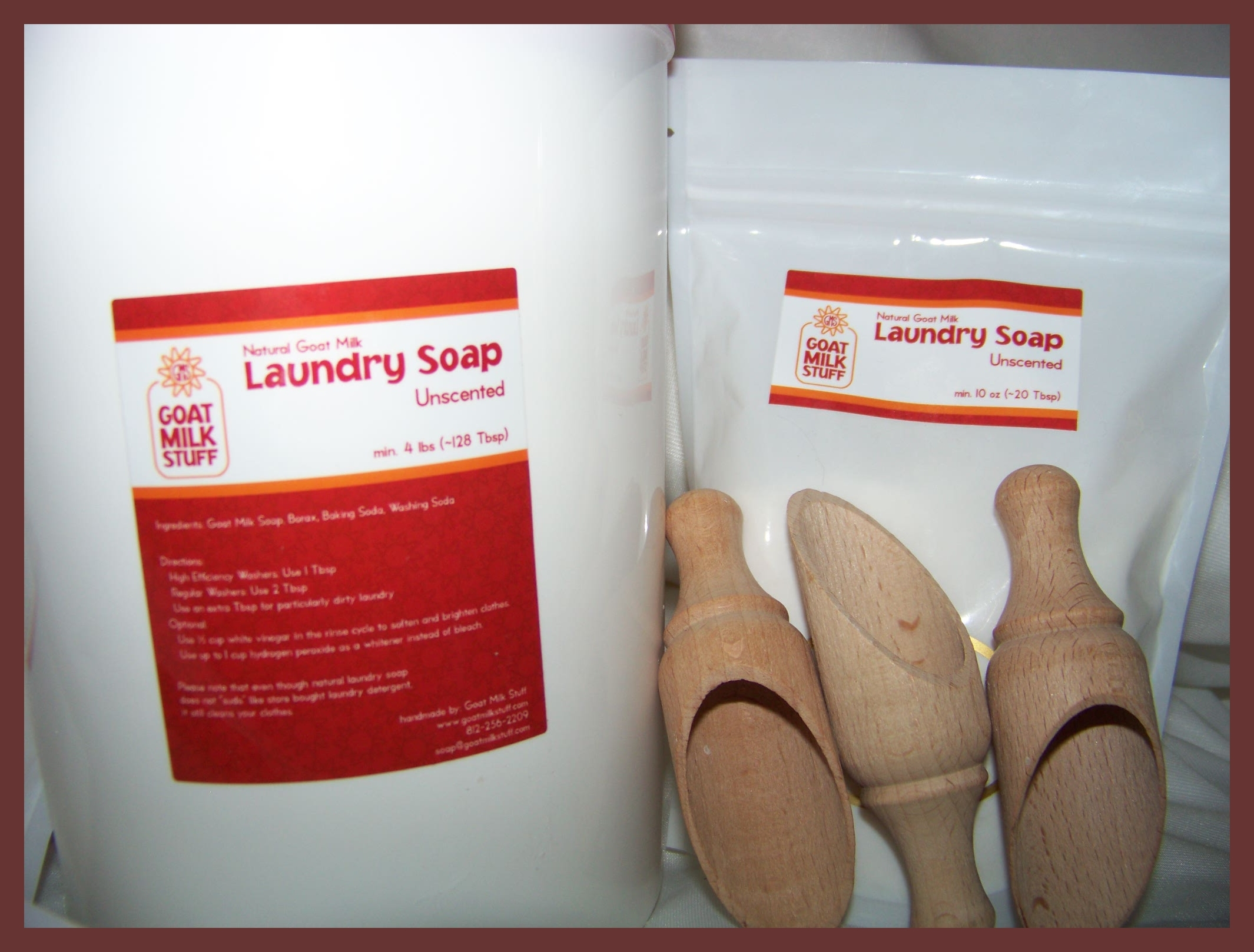 Laundry Soap Trial Size