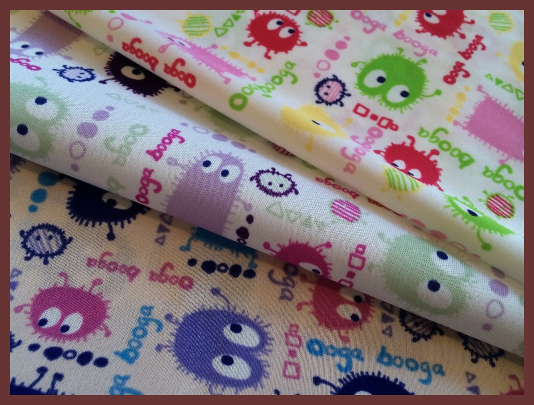 Cuts Collection: Girlie Ooga Booga 3 PUL Prints