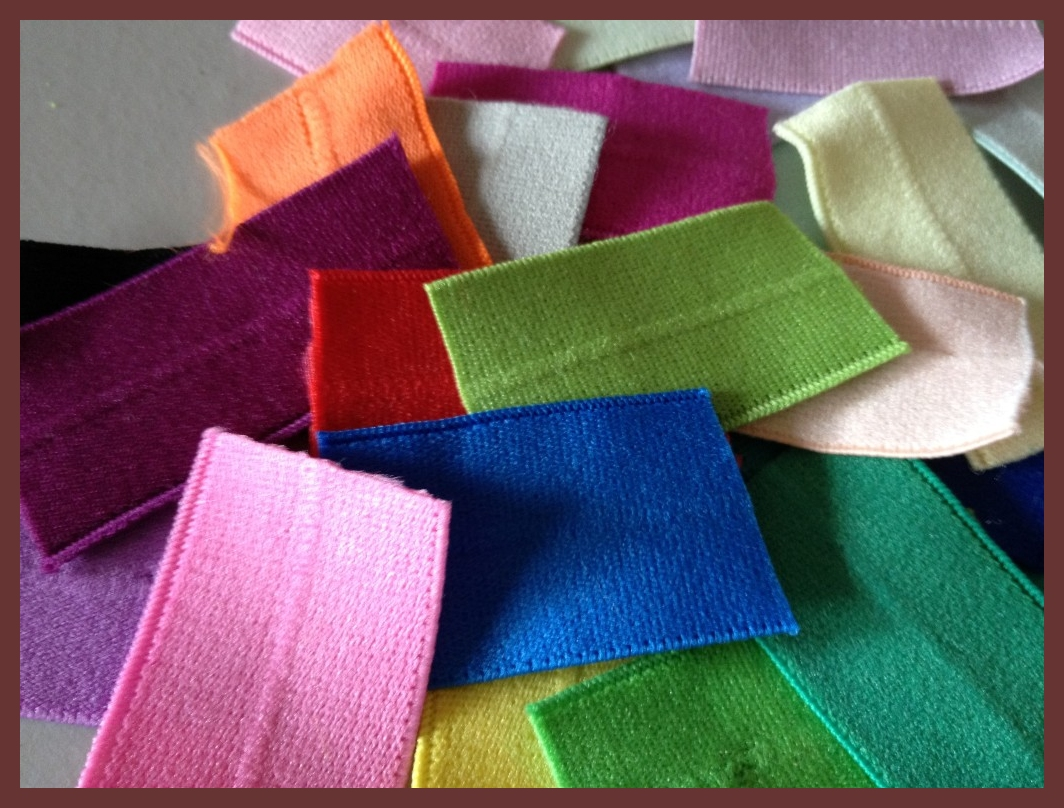 Fold Over Elastic (FOE) samples