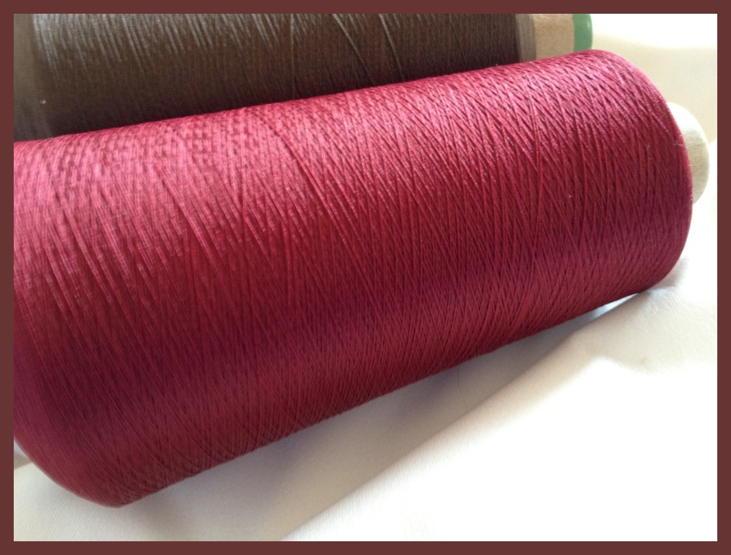 Wooly Nylon Giant Cone Chestnut Red #281