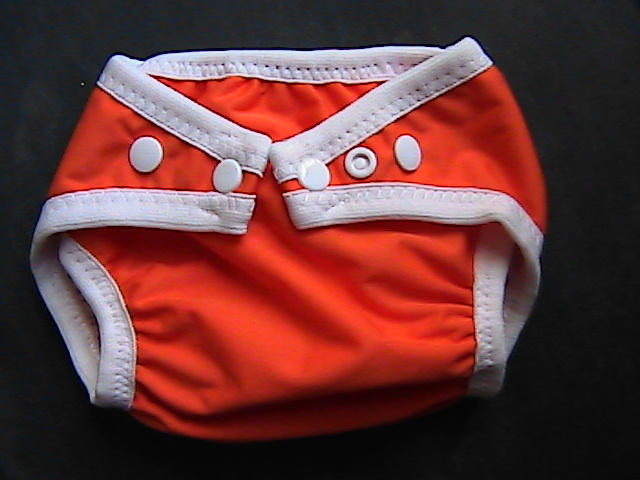 Red Pocket Diaper - Small