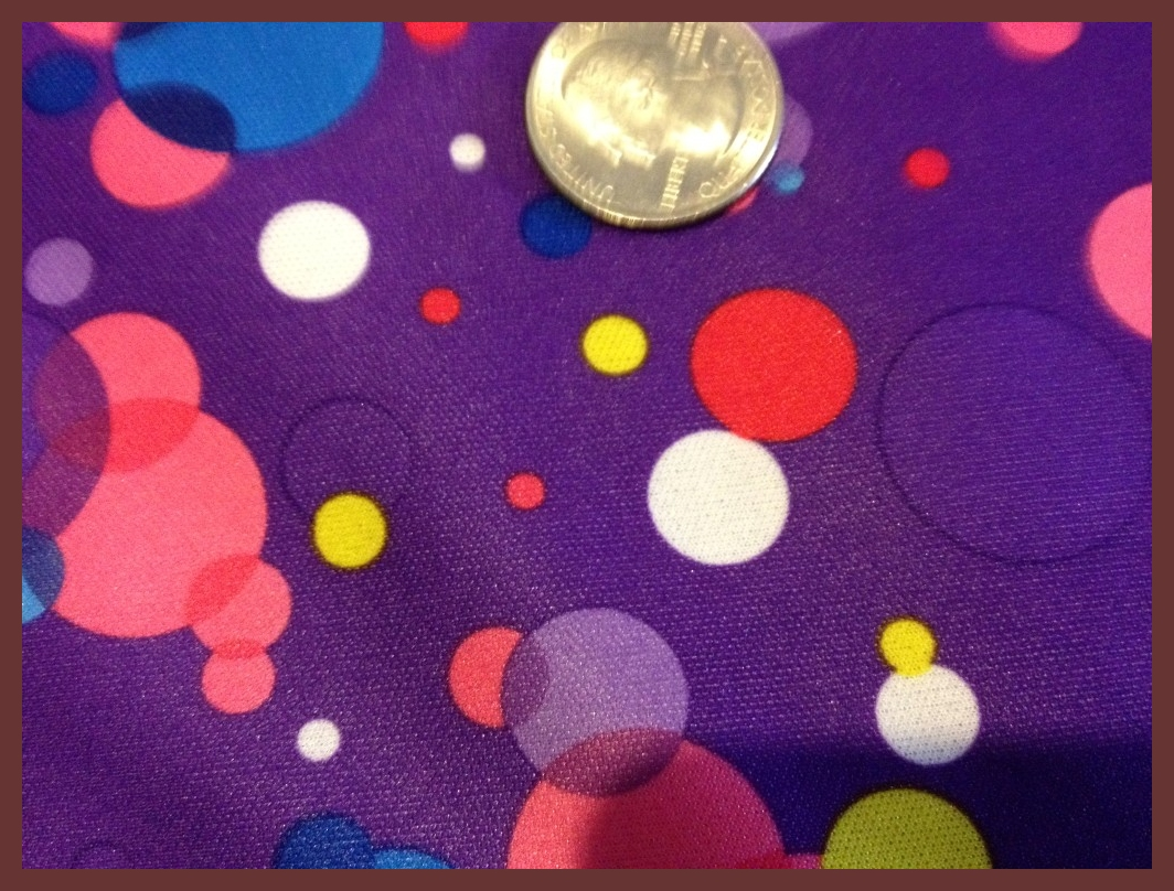 """Purple Bubbles 31/32"""" X 59/60"""""""