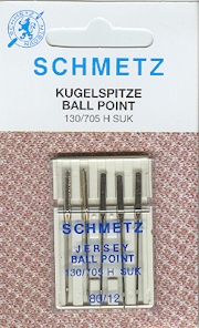 Schmetz Ball Point Needles 80/12