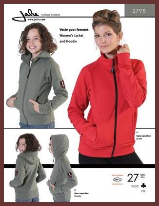 Jacket & Hoodie Jalie #2795