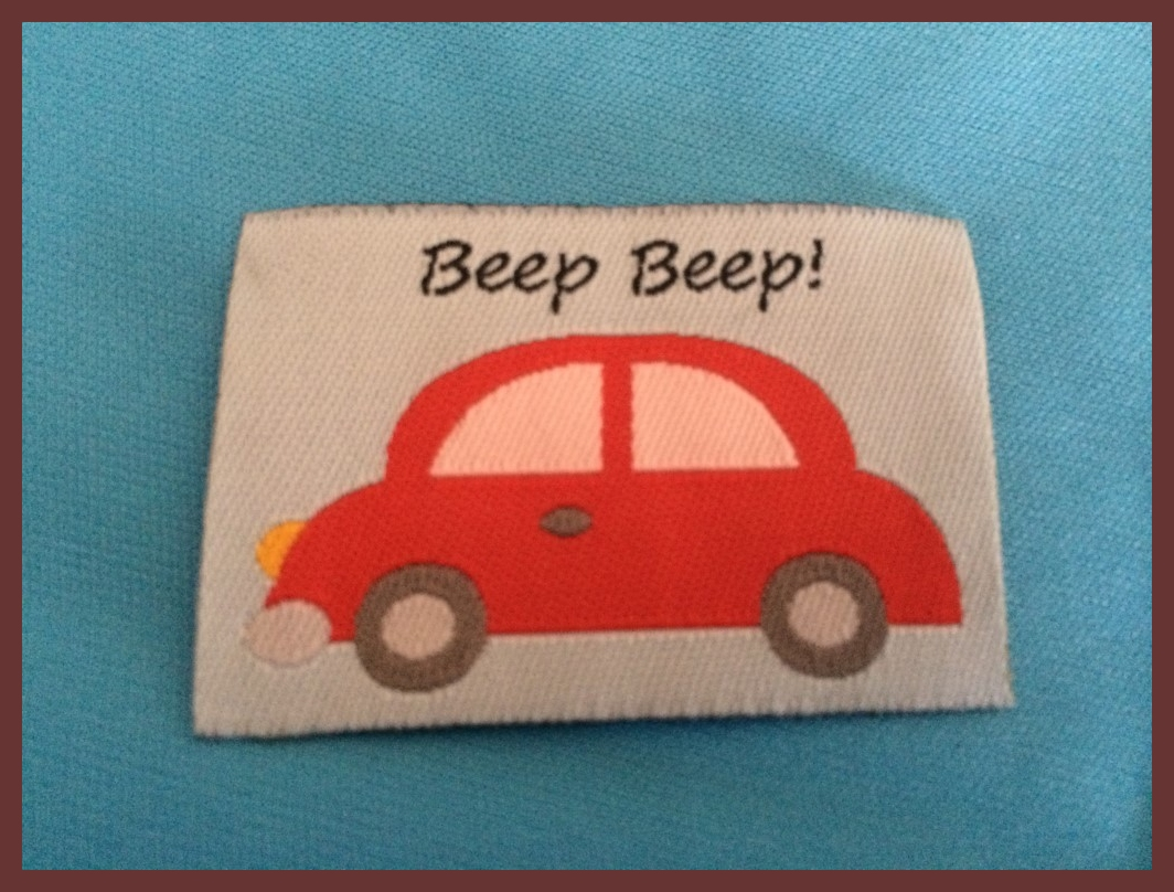 Beep Beep Label