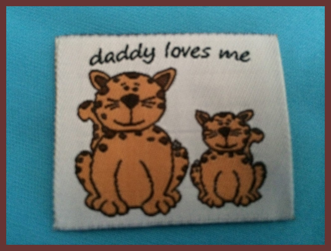 Daddy Cat Label