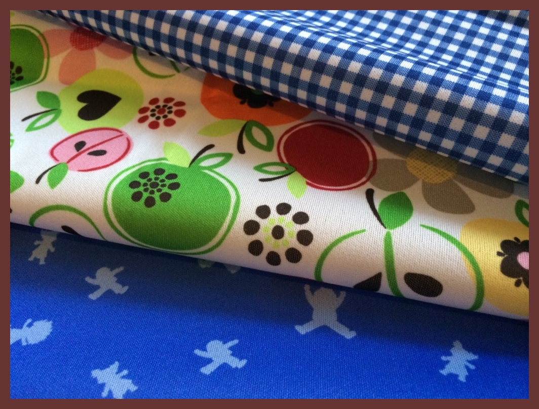 Cuts Collection: Picnic Blue 3 PUL Prints