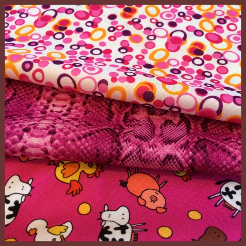 Cuts Collection: Super Pink 3 PUL Prints