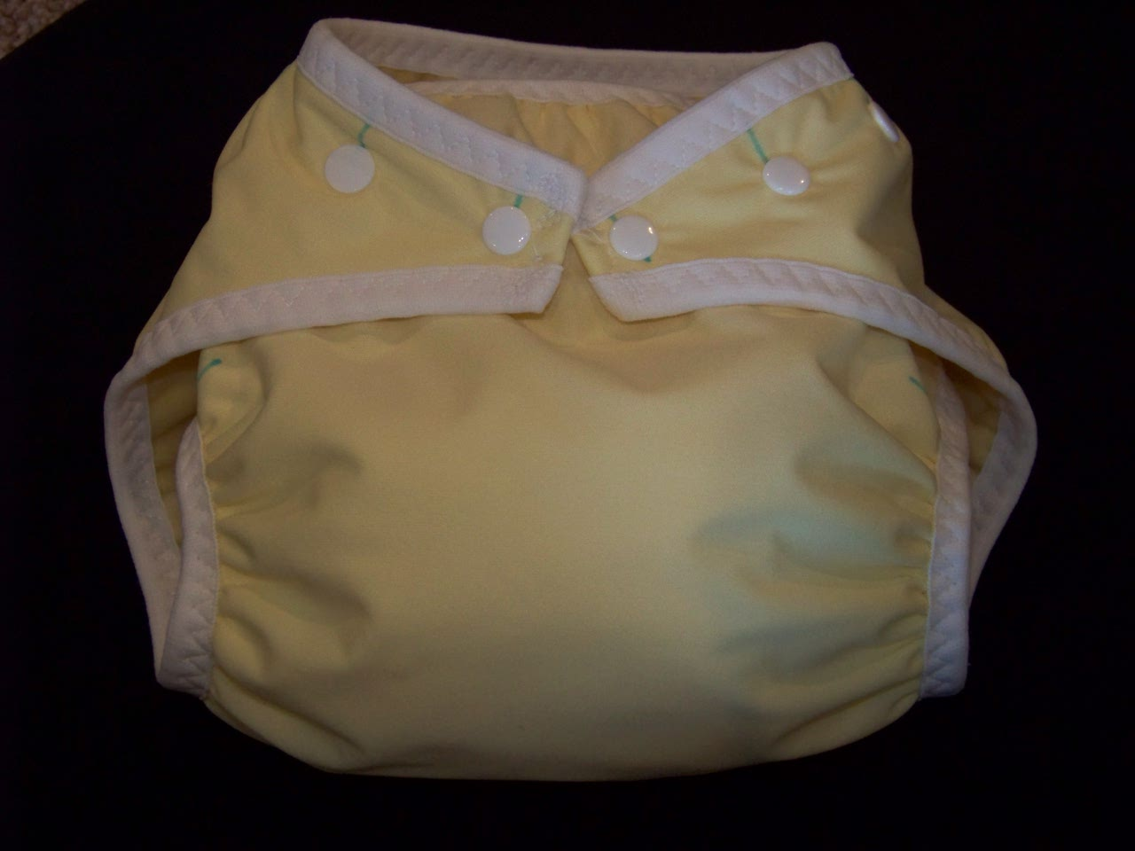 Butter Yellow Pocket Diaper - Large