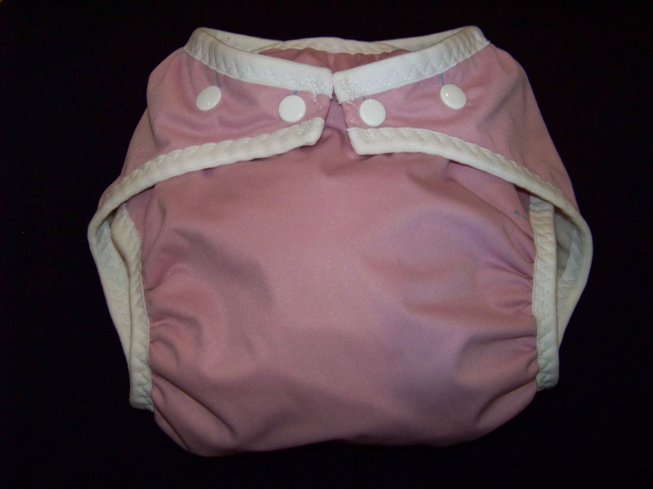 Rose Pocket Diaper - Large