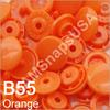 B55 Orange *25* complete snap set