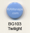 BG103 Twilight  * 25 * Complete Snap Set