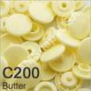 C200 Butter *25* complete snap set