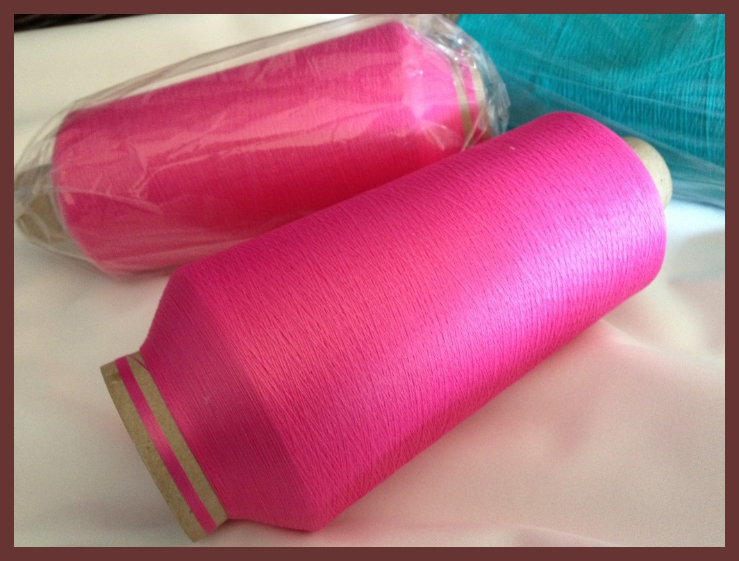 Wooly Nylon Giant Cones Bright Pink #291