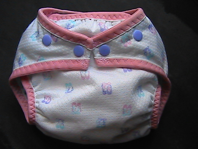 Ballet Slippers AIO Diaper - Small