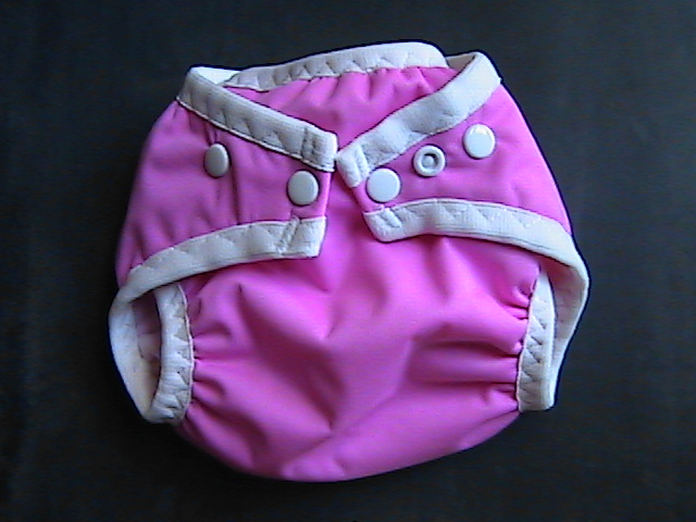 Raspberry Pocket Diaper - Small