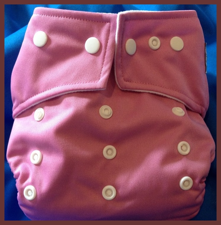 Rose Pocket One Size Diaper