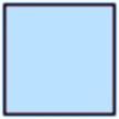 """1"""" FOE Baby Blue"""