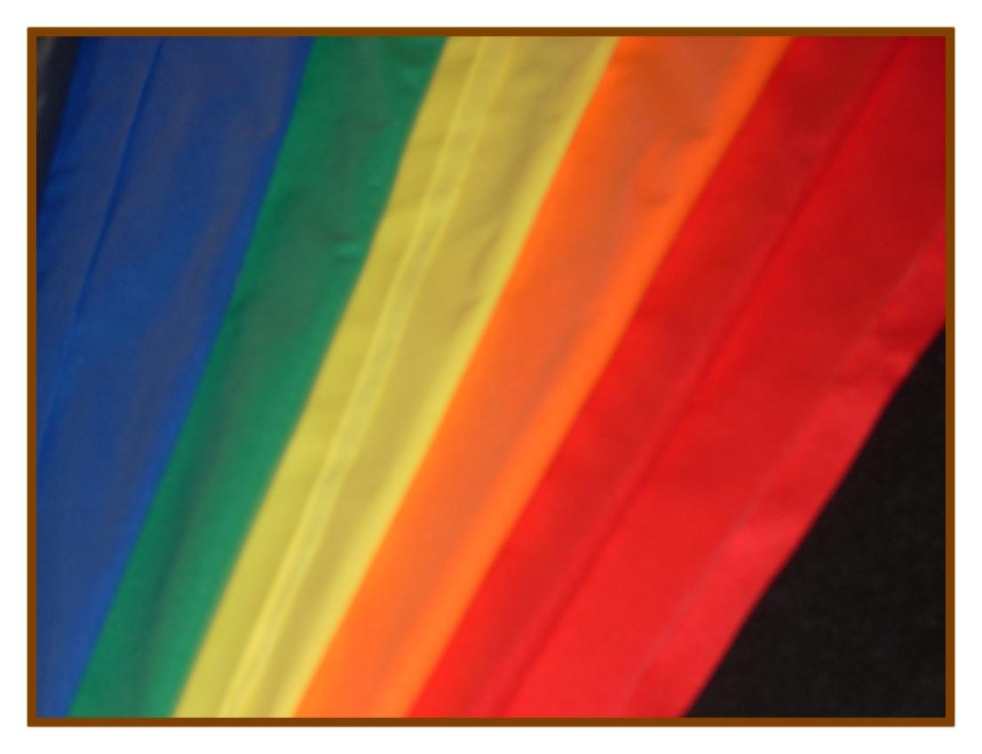 5 pack Rainbow