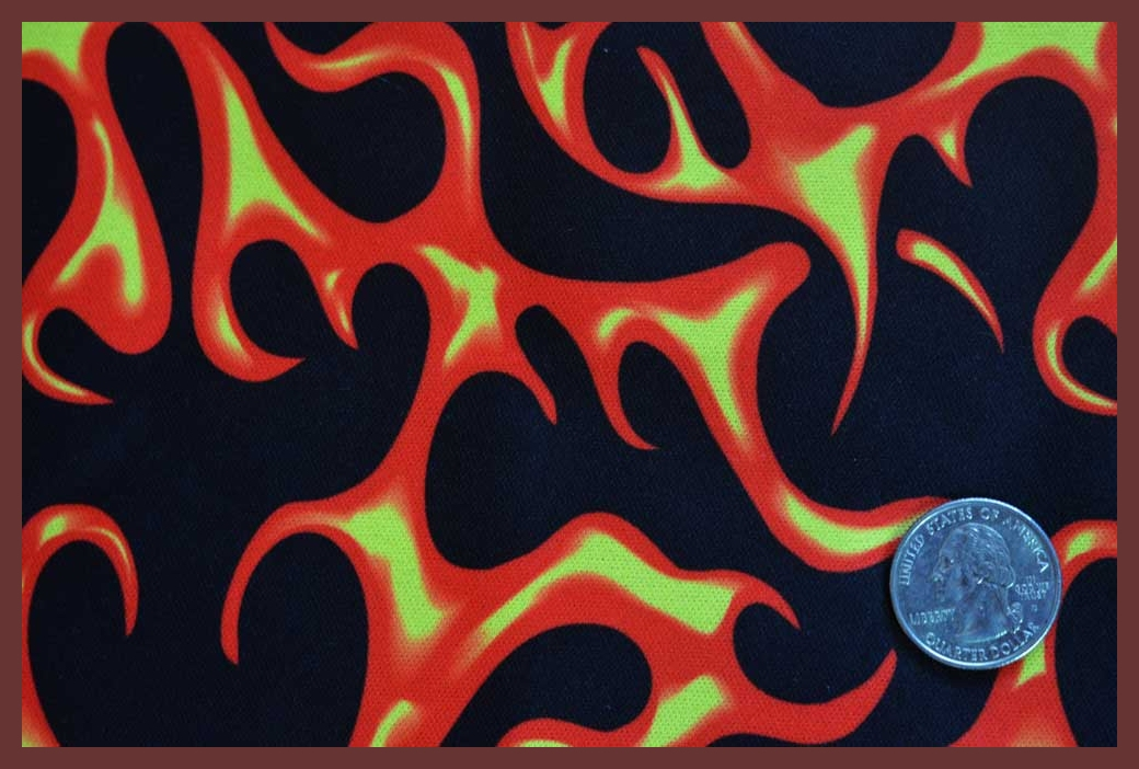 "Fifties Flames 22""X60"""
