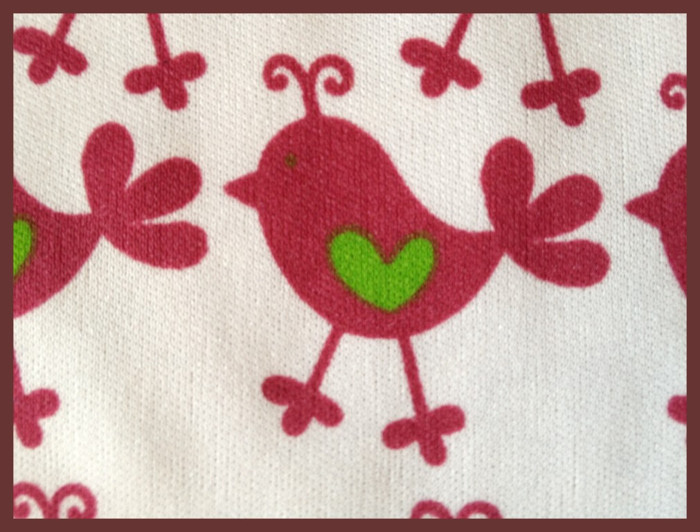 "Fuscia Lime Chicks 20""X21"""
