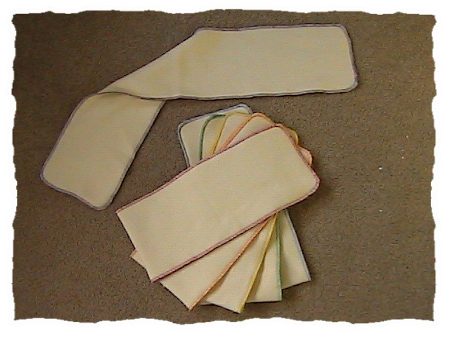 Hemp Quick Dry Inserts seconds - Lot of 2