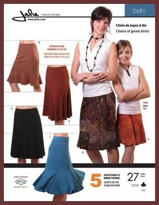 Knit Skirts Jalie #2681