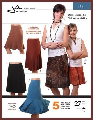 Knit Skirts Jalie #2681