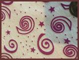 minky print PUL diaper fabric