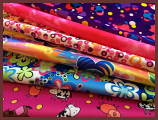 Cuts Collection: Girlie Brights 6 PUL Prints